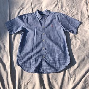 Men's Polo Ralph Lauren SS button down shirt